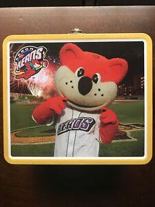 Akron Aeros Lunch Box Orbit's Future Stars Cleveland Indians Minor League