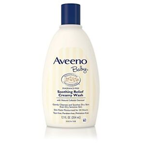 Aveeno Baby Soothing Relief Creamy Wash, 12 oz