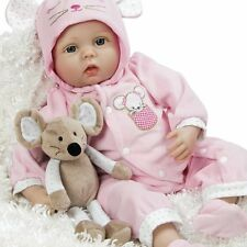 Paradise Galleries Realistic Reborn Baby Doll Mia Mouse Gift USED OPEN BOX