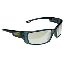 DeWalt  Excavator  Safety Glasses  Semi-Clear Lens Black Frame 1 pc.