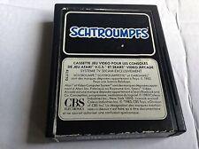 ATARI 2600 vintage gioco #retrogaming Smurf Schtroumpfs etichetta carrello solo UC
