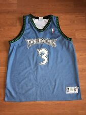 Stephon Marbury VTG STARTER Jersey Authentic Minnesota Timberwolves Size 52