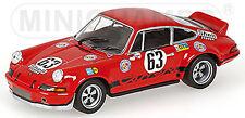 PORSCHE 911 Carrera RSR 2,8 Lemans 1973 LOOS Babu #63 1:43 MINICHAMPS