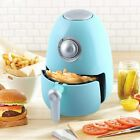 Electric Air Fryer with Timer Non Stick Small Compact Fry Basket