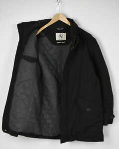 AIGLE WATSONS Men's LARGE Filled Polyamide Shell Hide Hood Jacket 31783-GS