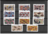 FRANCE 2019.INSPIRATION AFRICAINE. LOT DE 11 TIMBRES AUTOADHESIFS CACHETS RONDS