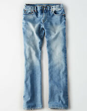 American Eagle Men's Classic Bootcut Jeans - Light Wash - 33x30 - NEW Version