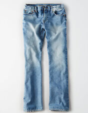 American Eagle Men's Classic Bootcut Jeans - Light Wash - 34x34 - NEW Version