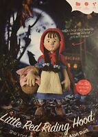 KNITTING PATTERN Alan Dart Little Red Riding Hood Doll Toy with Basket 33cm tall