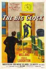 Reloj grande la película de 02 A3 cartel impresión