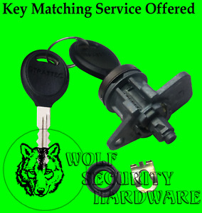 Dodge Ram Pickup Single Left Hand LH Door Lock Cylinder Tumbler Barrel 2 Keys
