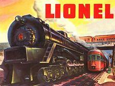 Publicidad Juguete Tren colector Ferrocarril Eléctrico Modelo arte cartel impresión lv266