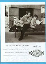 BELLEU999-PUBBLICITA'/ADVERTISING-1999- PATEK PHILIPPE - CALENDARIO ANNUALE UOMO