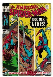 Marvel comics Spiderman  87 VFN+ 8.5  1970