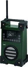 CTC Akku-Netz-Baustellenradio+USB Outdoor-Radio Werkstattradio Radiowecker NEU
