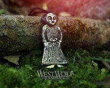 Viking Valkyrie Pendant - Revninge Woman -- Norse/Medieval/Denmark/Norway/Silver