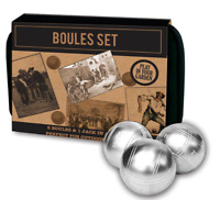 6 BALL BOULES SET IN CANVAS BAG