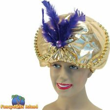 Aladdin Arabian Turban Wedding Pagarhee Fancy Dress Eastern Style New Hat