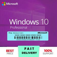Windows 10 Pro a 32/64 Bit Chiave Professionale Vera attivazione della Licenza Chiave Codice