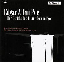 EDGAR ALLAN POE : DER BERICHT DES ARTHUR GORDON PYM / 2 CD-SET (HÖRSPIEL)