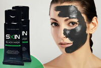 2 PACK - Charcoal Blackhead Remover Peel Off Facial Cleaning Black Face Mask 50g