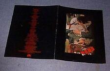 Original1981 REDS Rare Cast & Crew Folder