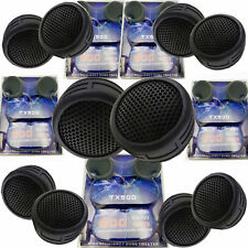 5 Pairs 2500W Total Power Super High Frequency Mini Dome 1 Inch Car Tweeters 5x