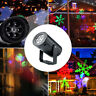 Christmas LED Laser Projector Snowflake Lights Twinkle Garden Outdoor Decoration