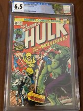 Incredable Hulk 181 CGC 6.5 first appearance of Wolverine