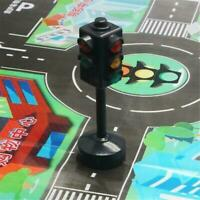 11.5cm Kids Traffic Light Toy Signs Light Vehicle Signal Education Puzzle Toys