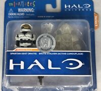 HALO UNIVERSE MINIMATES SERIES 3 SPARTAN AND BRUTE STALKER TOYS R US EXCLUSIVE