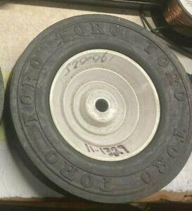 OEM Toro 11-1329 Lawn mower TIRE & Wheel HAS TORO ON SIDE OF TIRE