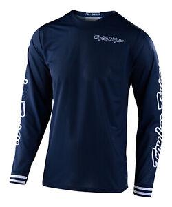 Troy Lee Designs GP AIR MONO Jersey - Navy - Motocross Dirt Bike
