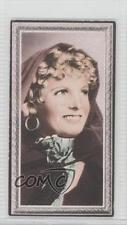 1936 Godfrey Phillips Stars of the Screen Tobacco Base #6 Anna Neagle Card 0v9