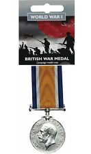 British War Medal WW1 Full Size Reproduction World War 1 One Military History