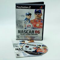 NASCAR 06 Total Team Control Sony PlayStation 2 PS2 Driving Racing Game Complete