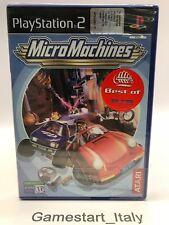 MICRO MACHINES - SONY PS2 - VIDEOGIOCO NUOVO SIGILLATO - PAL VERSION NEW SEALED