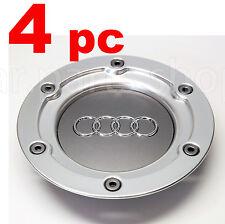 4x Audi Wheel Center Caps 146mm Emblem Cover Hub A3 A4 A6 S3 S4 S6 TT 8N0601165A