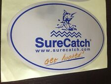 SURECATCH FISHING STICKER METALLIC COATED BIG 245MM LONG RODS BAITS LURES