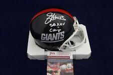 Jeff Hostetler Signed Auto New York Giants Mini Helmet W/SB XXV Champ - JSA WPP