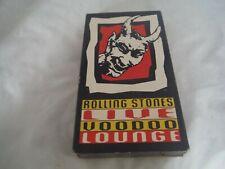 Rolling Stones Live Voodoo Lounge Tour 1994/1995 Video Vhs Official Souvenir