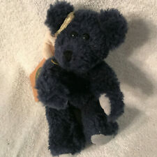 Boyds Ornament Angel Bear Lapis, Qvc Exclusive Plush Rare