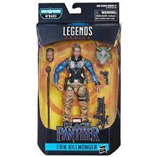 Marvel Legends ERIK KILLMONGER MILITARY Black Panther Wave 2 M'Baku BAF PREORDER