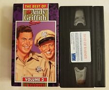 ANDY GRIFFITH SHOW VHS VOLUME 3 FREE SHIPPING