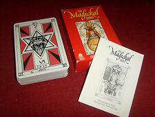Ancien Tarot Magickal jeu de cartes VINTAGE Magic Aleister Crowley Thot Thoth