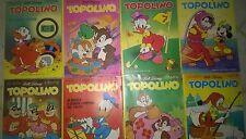 Lotto 8 Topolini1229 1230 1232 1235 1238 1251 1252 1261  + GADGET vedi