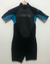 O'Neill Childs Spring Shorty Wetsuit Kids Size 10 Reactor 2/2 Youth - Excellent!