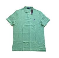 Polo Ralph Lauren Classic Fit Soft Touch Golf Polo Shirt Light Green NWT Men's L