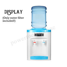 220V Portable Water Filter Machine Warm Water Dispenser Table Top New