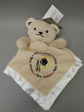 Baby Fanatic Washington Redskins Baby Blanket Security Lovey Teddy